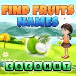 Find Fruits Names