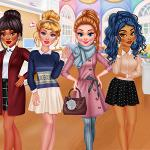 Princesses Cold Weather School Outfits