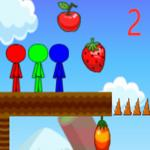 Stickman Brothers In Fruit Island 2